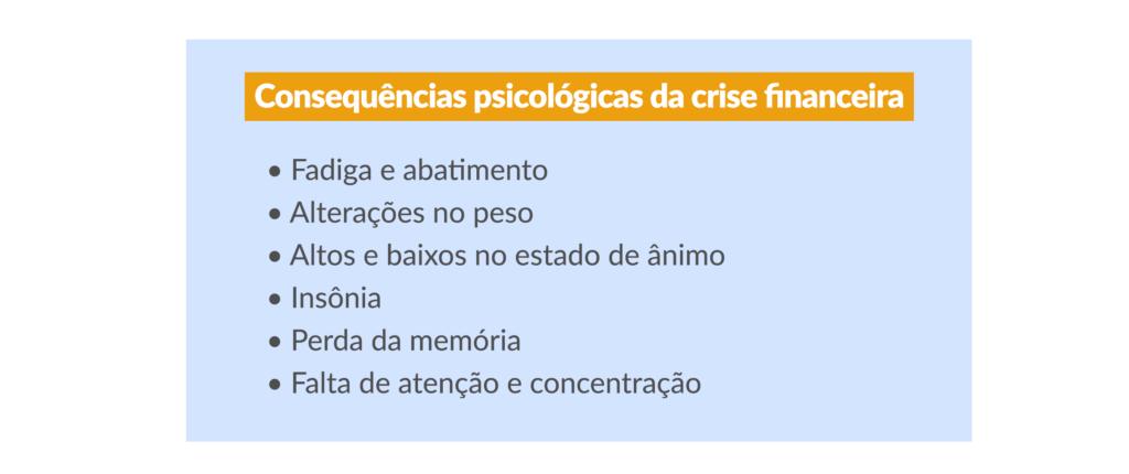 Problemas financeiros e o nosso psicológico