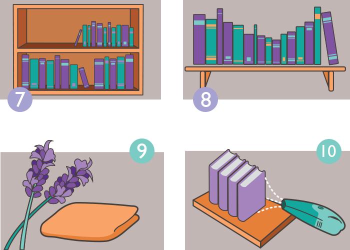 Passos para organizar seus livros parte 2