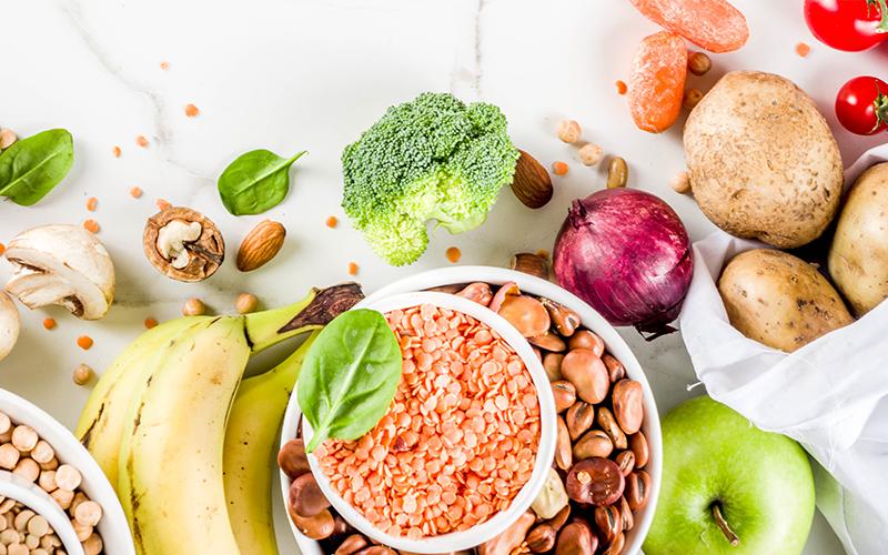 Alimentos baratos e simples da dieta vegetariana
